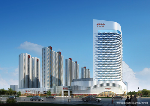 企业建筑设计之苏中新邳州心家居商业vi设计软件图片